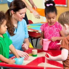 Educational standards in the kindergarten area